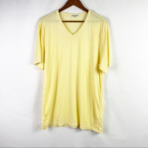 COTTON CITIZEN V-Neck Short Sleeve Tee in XL
